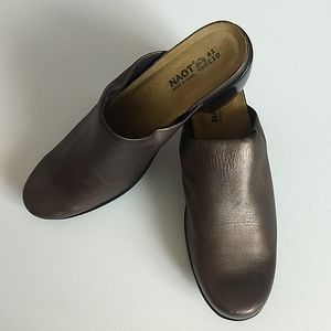 NAOT Genuine Leather Bronze Shoes * Size 41/10